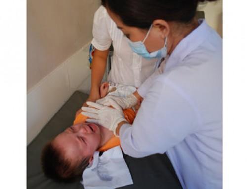 Thông mũi cho trẻ em bằng phương pháp Vật lý trị liệu
